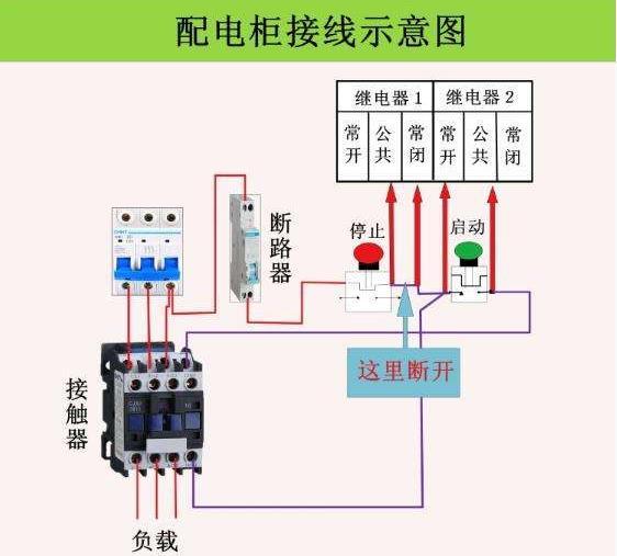 配电柜接线yuan理图
