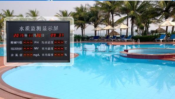 plc泳池监测系统