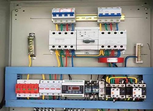 机床配电箱电气xian路的日常维护