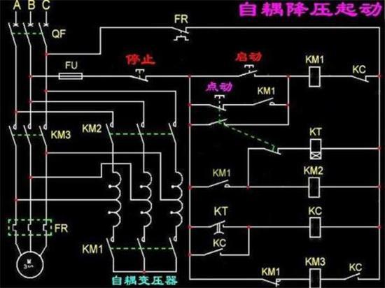 自耦降压启动控制柜接线原理图.jpg
